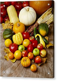 Agriculture - Autumn Fruits Acrylic Print by Ed Young