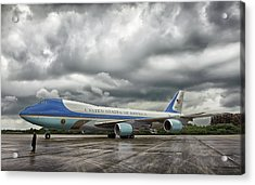 Air Force One Acrylic Print by Mountain Dreams
