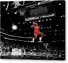 Air Jordan Acrylic Print by Brian Reaves