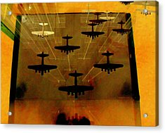 Air War Acrylic Print by Randall Weidner