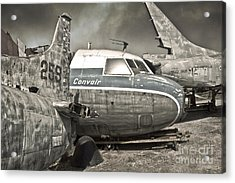 Airplane Graveyard - 02 Acrylic Print by Gregory Dyer
