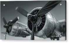 Airplane Propeller - 02 Acrylic Print by Gregory Dyer