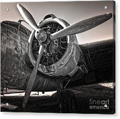 Airplane Propeller - 05 Acrylic Print by Gregory Dyer