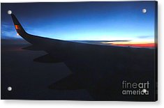 Airplane Wing - 02 Acrylic Print by Gregory Dyer
