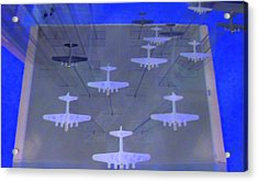 Airplanes 1 Acrylic Print by Randall Weidner