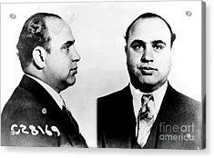 Al Capone Mug Shot Acrylic Print by Edward Fielding