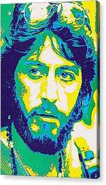 Al Pacino In Serpico Acrylic Print by Art Cinema Gallery
