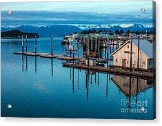 Alaska Seaplanes Acrylic Print by Mike Reid