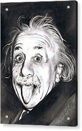 Albert Einstein Acrylic Print by Shane Cunningham