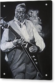 Albert King Acrylic Print by Steve Hunter