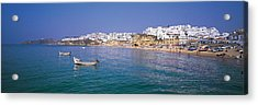 Albufeira Algarve Portugal Acrylic Print by Panoramic Images