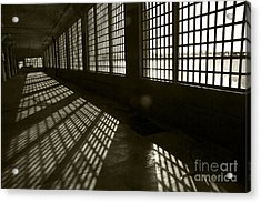 Alcatraz 4 Acrylic Print by Micah May