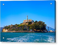 Alcatraz Island Acrylic Print by James O Thompson
