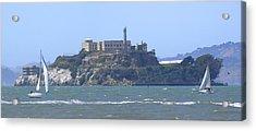 Alcatraz Island Acrylic Print by Mike McGlothlen