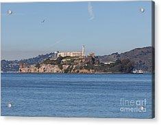Alcatraz Island San Francisco California 5dimg2521 Acrylic Print by Wingsdomain Art and Photography