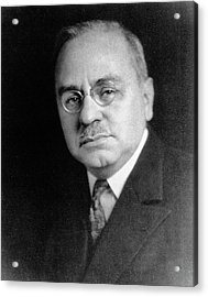 Alfred Adler Acrylic Print by National Library Of Medicine