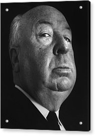Alfred Hitchcock Acrylic Print by Studio Photo