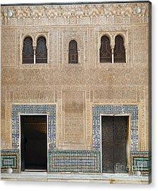 Alhambra Court Granada Acrylic Print by Rudi Prott