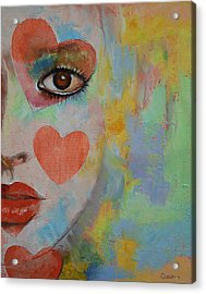 Alice In Wonderland Acrylic Print by Michael Creese