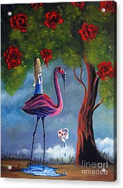 Alice In Wonderland Artwork  Acrylic Print by Shawna Erback
