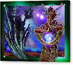 Alien  Beauty Acrylic Print by Hartmut Jager