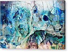 Alien Couple Acrylic Print by Petros Yiannakas