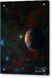 Alien Worlds Acrylic Print by Murphy Elliott