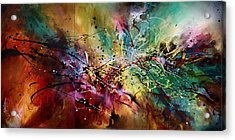 'all At Once' Acrylic Print by Michael Lang