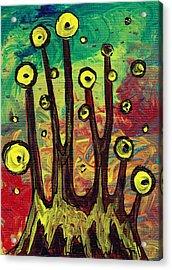 All Eyes On You Acrylic Print by Anastasiya Malakhova