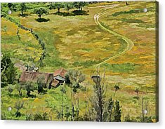 All Roads Lead Home Acrylic Print by David Letts