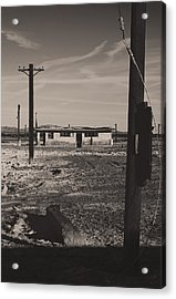 All That's Left Of Us Acrylic Print by Laurie Search