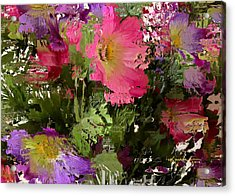 All The Flower Petals In This World 3 Acrylic Print by Kume Bryant