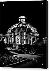 Allan Gardens Conservatory Palm House Toronto Canada Acrylic Print by Brian Carson