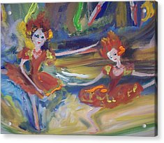 Allegro And Andante Acrylic Print by Judith Desrosiers