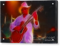 Allman-dickie-95-gb21-fractal Acrylic Print by Gary Gingrich Galleries