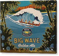 Aloha Series 2 Acrylic Print by Cheryl Young