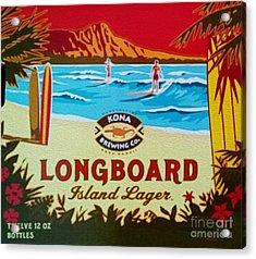 Aloha Series 4 Acrylic Print by Cheryl Young