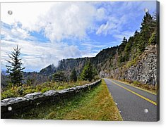 Along The Highway Acrylic Print by Susan Leggett