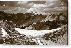 Alpine Landscape Acrylic Print by Frank Tschakert