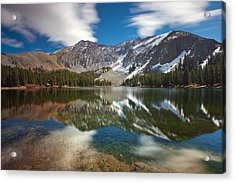 Alta Lakes Acrylic Print by Darren  White