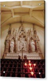Altar Acrylic Print by Susan Candelario