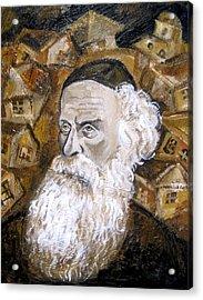 Alter Rebbe Acrylic Print by Leon Zernitsky