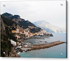 Amalfi Italy Acrylic Print by Pat Cannon