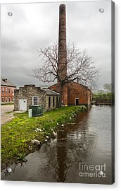 Amana Colonies Old Brewery - 03 Acrylic Print by Gregory Dyer