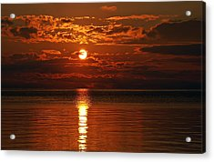 Amazing Sunset Acrylic Print by Aimee L Maher Photography and Art Visit ALMGallerydotcom