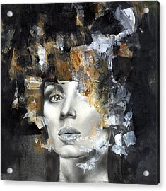 Amber Acrylic Print by Patricia Ariel