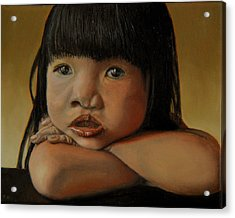 Amelie-an 4 Acrylic Print by Thu Nguyen