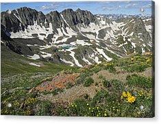 American Basin Acrylic Print by Aaron Spong
