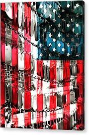 American Heroes Acrylic Print by Dan Sproul