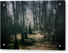 American Horror Story - Coven Acrylic Print by Tom Mc Nemar